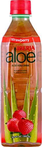 Iberia Aloe Vera Juice Drink, Strawberry, 16.9 Fl Oz (Pack...