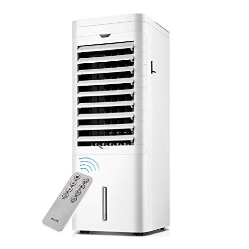 GYF Enfriador Evaporativo,El Ahorro De Energía 3 En 1 Purificador Función Frío Ventilador Control Remoto Multifunción Aires Acondicionados Móviles Blanco