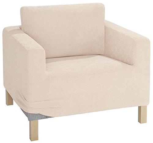 Gardinenbox.eu Sesselhusse 1tlg, Farbe Creme, My Home -376043- A ca. 80-100 cm
