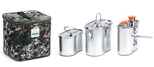 Old Faithful Flameless Geyser Portable Cooking System - Cook Anywhere Without Fire - MRE Freeze...
