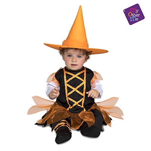 My Other Me Me Me - Halloween Bruja Disfraz, Color Naranja, 0-6 meses, Fun Company 203256