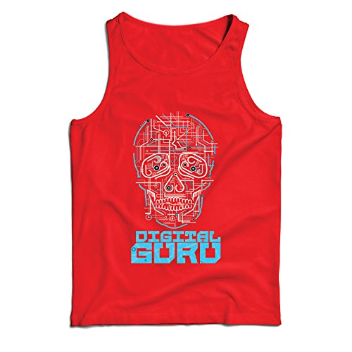 lepni.me Camisetas de Tirantes para Hombre El gurú...