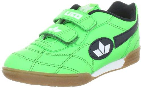 Lico 360322, Zapatillas de Deporte Interior Unisex Niños, Verde, 25 EU