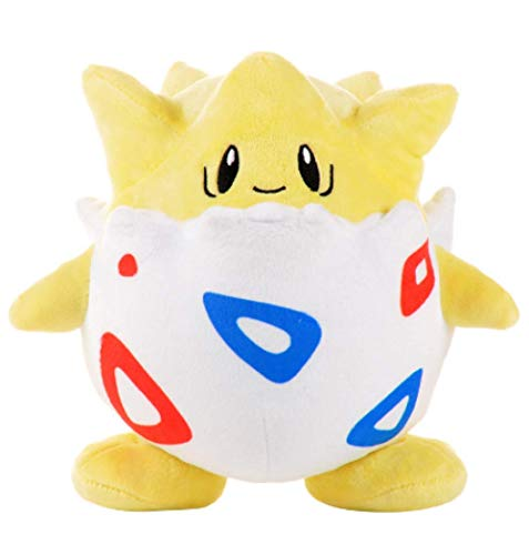 Kawaii Pokemon Togepi Cartoon Plush Doll Toy 21Cm, Lindo Pokemon Togepi Anime Plush Doll, Muñecos De Peluche Suaves Niños Niños Regalo