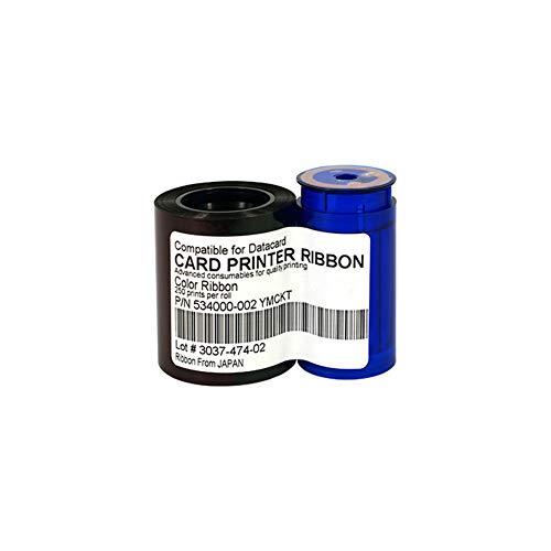 534000-002 Farbband, YMCKT 534000-002 Farbband für Datacard SP35 SP55 SP75, 250 Bilder