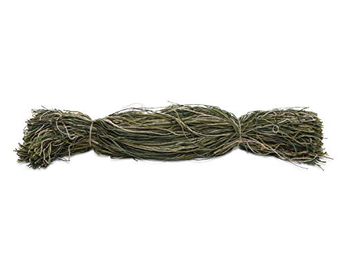 North Mountain Gear Ghillie Suit Thread - 3 Pounds of Camouflage Synthetic Ghillie Yarn to Build Your Own Ghillie Suit -(Woodland Green Camo
