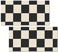 アートパネルモダン パターン 柄 2連 セット 星条旗 アメリカン アメカジ カフェ 縦 横 兼用 総柄 柄 星 スター 赤 レッド 紅白 模様 シンプル