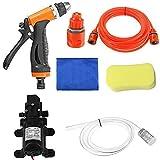 GENFALIN Kit de herramientas de lavado de la bomba de lavado a presión Lavadoras de limpieza de coche eléctrico del cuidado de coche Wash Car