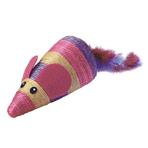 KONG JU04099 Cat Wrangler Scratch Mouse, Rascador Ratón