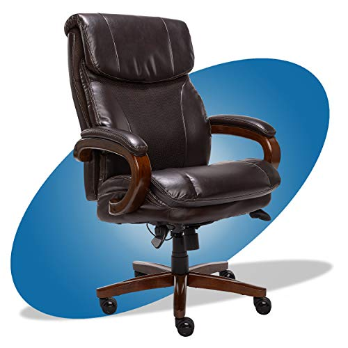 Our #4 Pick is the La-Z-Boy Trafford Big and Tall Ergonomic Office Chair