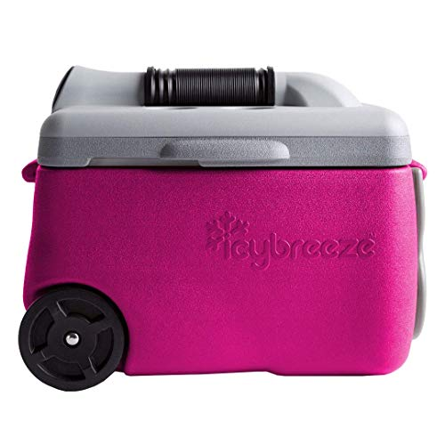 IcyBreeze V1 Cooler - 12V Chill Package | No Battery, Direct Power Unit | Ultimate Stationary Package (Hot Pink)