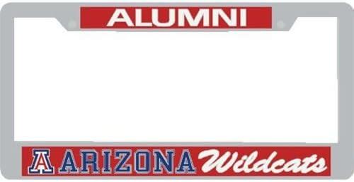 Stockdale Max 70% OFF Arizona Wildcats Alumni Metal Frame W License Plate Do Classic