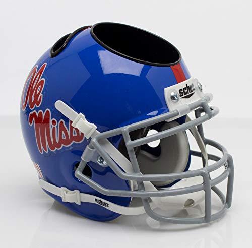 NCAA Mississippi Old Miss Rebels Helmet Desk Caddy, One Size