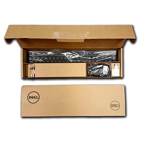 Vestal Teclado y Ratón Inalámbricos para Dell km63580-adfz KM636580-adfz (580-adty) P/N: KM636rdf0y pfxf6USB inalámbrico UK English Layout QWERTY PC
