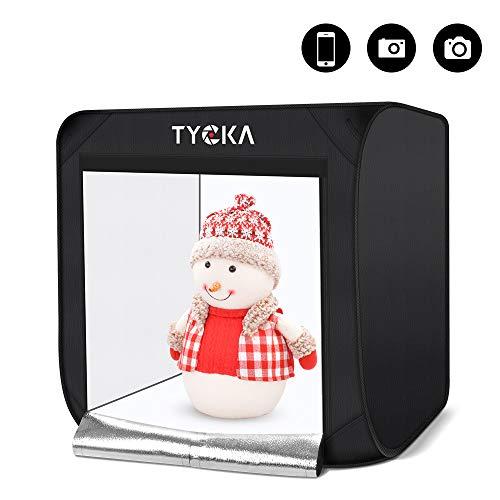 Caja para Estudio Fotográfico TYCKA, Caja de Luz Plegable para Estudio Fotográfico...