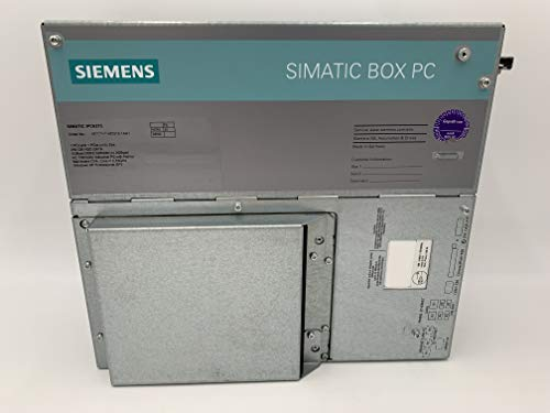 Siemens Simatic IPC627C Caja PC 6ES7647-6CG10-1AA1 IPC 627C HD Gráfico a bordo 6ES7 647-6CG10-1AA1 2GB DDR3 1066 4X USB V2.0 6ES76476CG101AA1 Sin HDD