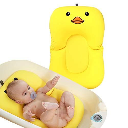 Baby badstöd, KEEZSHOP baby bad stöd svamp baby badkar kudde flytande halkskydd badkudde mjuk sits badkar stöd för nyfödd