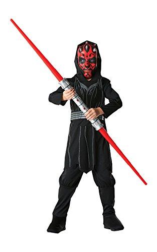 Rubie's - Costume di Star Wars da Darth Maul, Ufficiale Disney, da Bambino