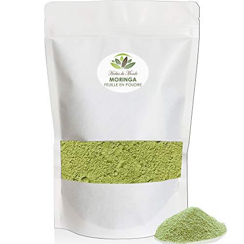 Moringa de qualité supérieur -Moringa oleifera 100g en poudre - Complément alimentaire Riche en Vitamine C - Nutrition Naturelle