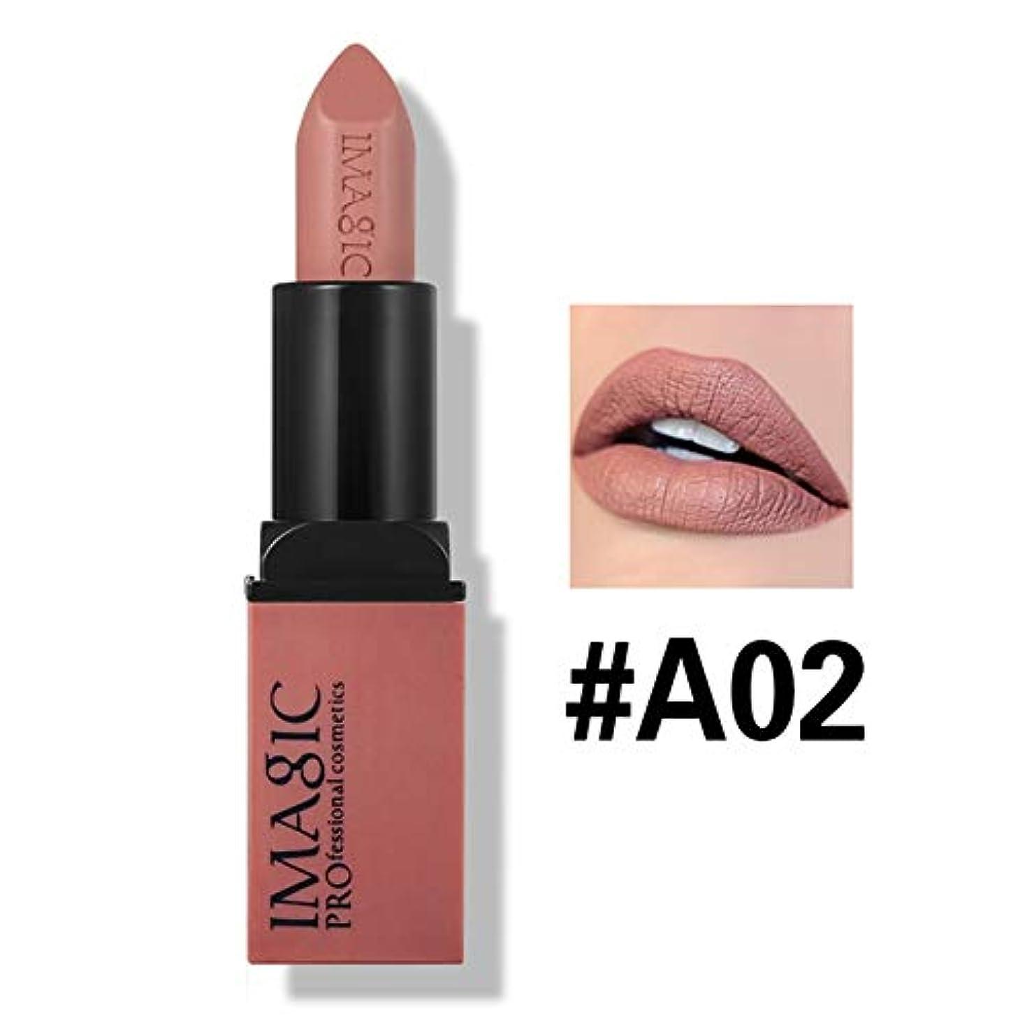 起訴する協同規模NOTEイマジックガラス12色マットリップスティッククリスタルコラムマットリップスティックリップスティック化粧品簡単に着用口紅マットバット