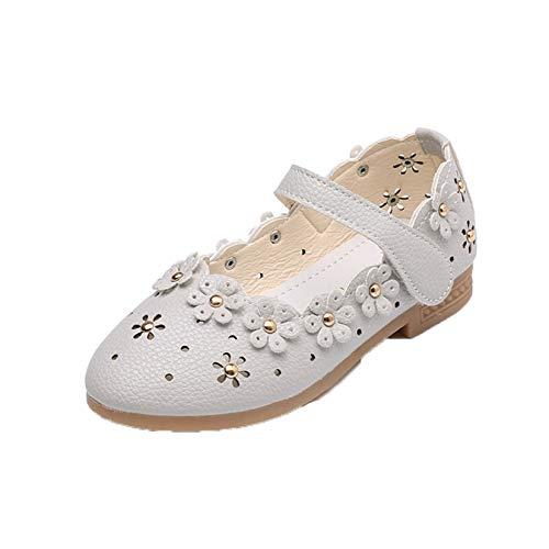 Zapatos de Princesa de Cuero para niños Suela Suave Antideslizante Zapatos de...