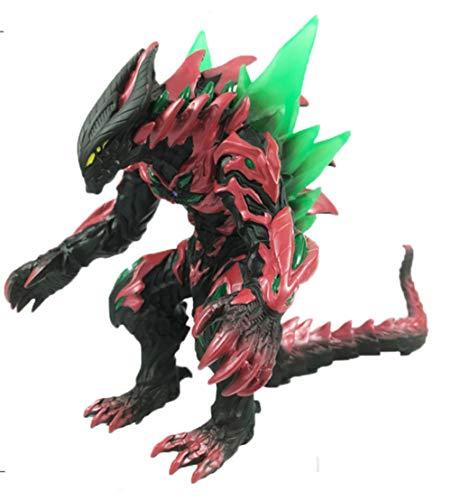 LJXGZY Escultura de Regalo sin Marca Decoracion de Juguete Estatua Artesanal Godzilla Anime Figura de accion Muneca de PVC Modelo Coleccion Decoracion Modelo Regalo de cumpleanos Estatua