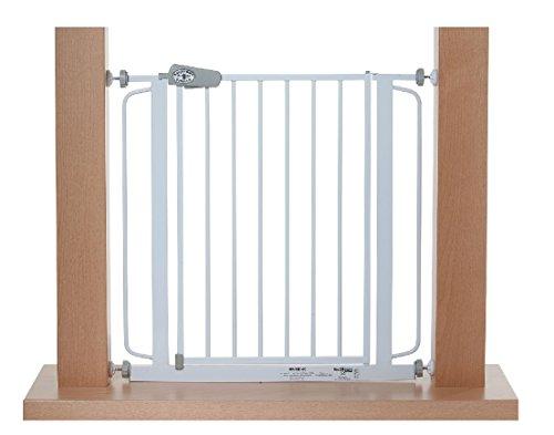 TOM - Barrera de seguridad 108-115 cm | Sin taladrar | puertas + escaleras