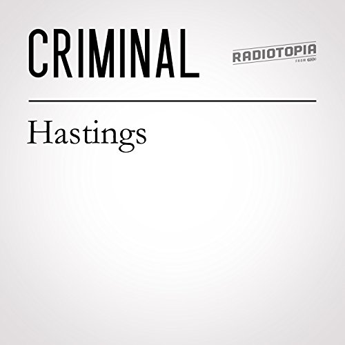 Hastings audiobook cover art