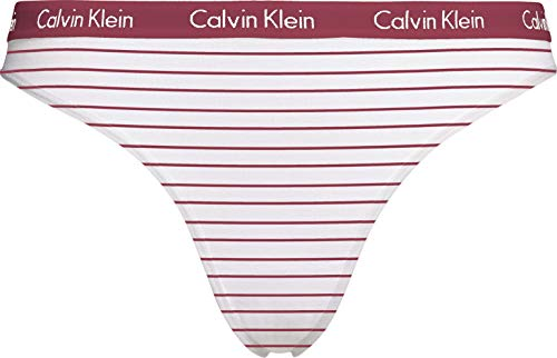 Calvin Klein Bikini Carousel, Feeder Stripe_Deep Sea Rose, M Donna