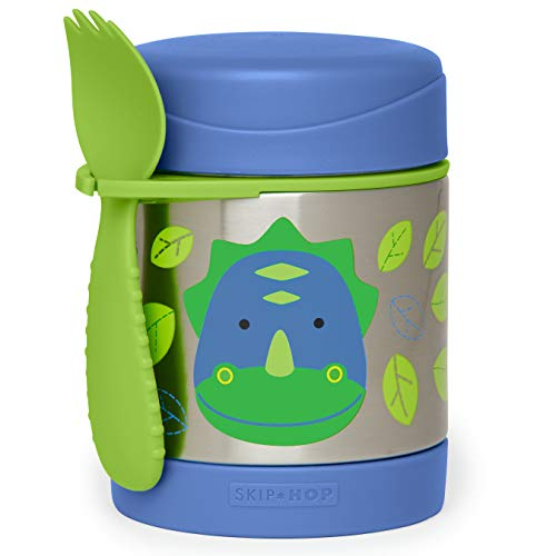Skip Hop Zoo Insulated Food Jar, Dino