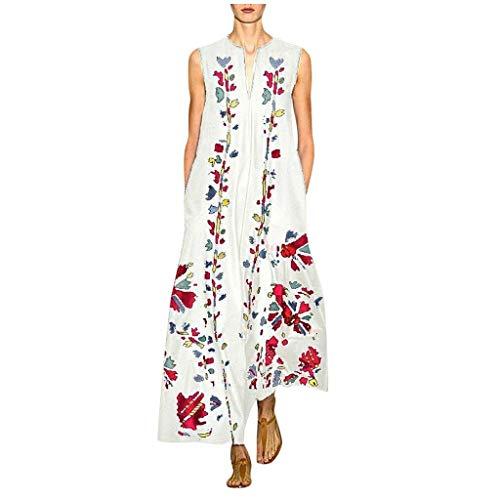 Kleidung Damen Sport Kleidung Für Herren Damenkleider Abschlusskleid Uv Schutzkleidung Kinder Sommerkleid Damen Tunika Kleider Damen Sommer Kleider Sommer Latex Kleid(Weiß,XL)