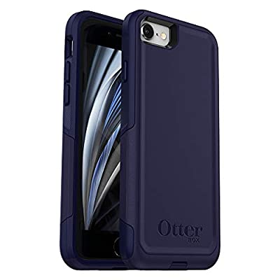 OtterBox Commuter Series Case for iPhone SE (2nd gen - 2020) - Indigo Way (Maritime Blue/Admiral Blue) (77-81671)