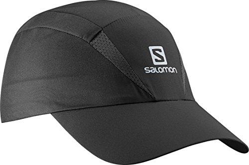 Salomon Gorra Unisex de Malla, Impermeable, XA Cap, Talla Ajustable, S/M, Negro, L38005500