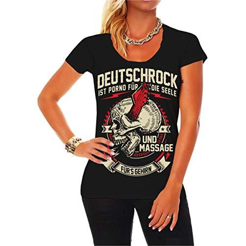 Spaß kostet Frauen und Girly Tshirt Deutschrock Porno für die Seele Größe XS - 5XL