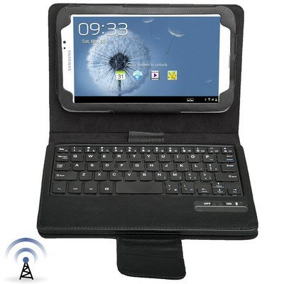 Digital Bay Srl Custodia cover in eco pelle con tastiera bluetooth rimovibile (max 10m) per samsung galaxy tab 3 7.0 p3200