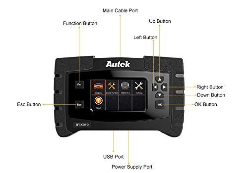 For Sale! AutekIFIX919 OBD2 Diagnostic Tool ABS Bleeding/Oil Service/EPB Reset Full System Diagnosti...