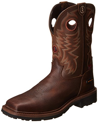 Tony Lama Men's Grizzly W/p Comp Toe, Briar, 11 D US