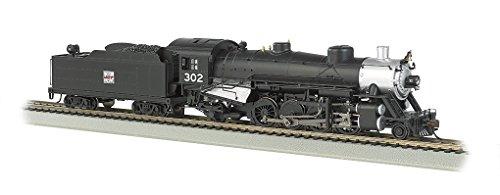 Bachmann Industries Trains Usra Light 2-8-2 Dcc Ready Western Pacific #302 With Medium Tender Ho Scale Steam Locomotive -  Bachmann Industries Inc., 54404