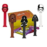 Star Wars Pez Candy Dispensers Set - Pez Star Wars With Pez Candy Refills   Darth Vader, Chewbacca, Kylo Ren, Storm Trooper Executioner, And Sith Trooper   Star Wars Party Favors In A Candy Box