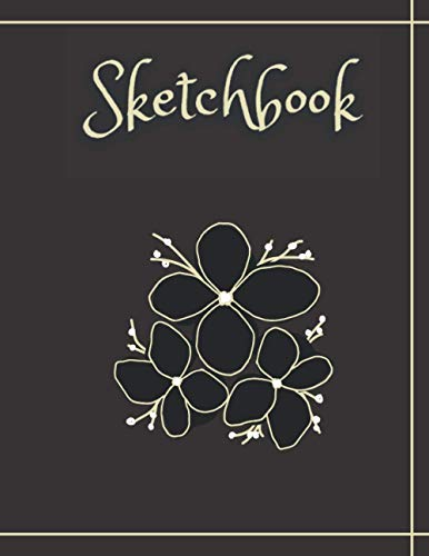 Sketchbook: Blank Notebook for drawing, painting, sketching, doodling or writing. 120 pages - (8.5 x 11 inches)
