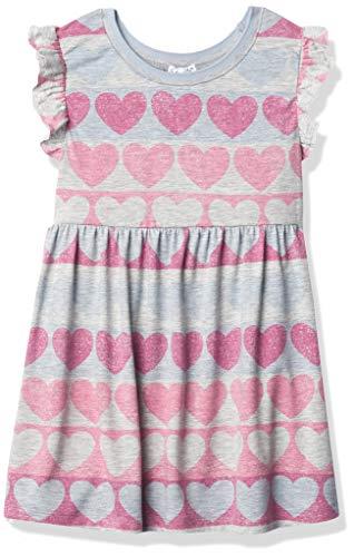 Splendid Girls' Kids' Short Sleeve Dress, Fuchsia, 6T