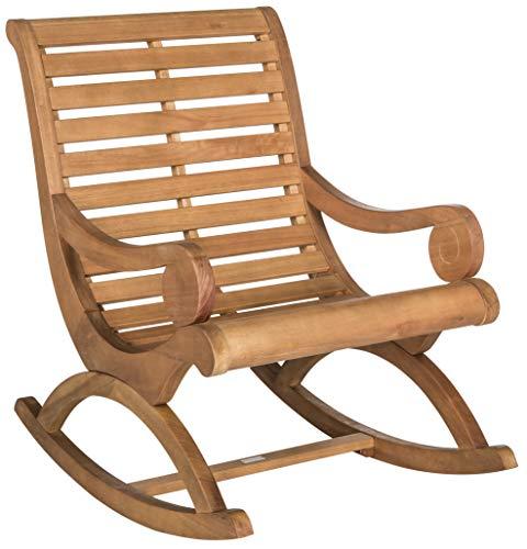 Safavieh Outdoor Collection Sonora Rocking Chair Teak Brown
