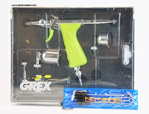 Grex Tritium.TS5 0.5mm Nozzle Double Action Pistol Style Trigger Airbrush Side Gravity Feed +Bonus by SprayGunner