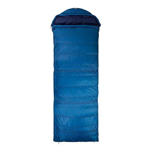 NOMAD Unisex-Adult Triple-S 600 Sleeping Bag deep Sky Ausführung Left Zipper 2019 Schlafsack, Blue