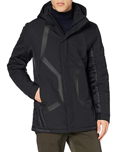 BOSS J_cerna abrigos hombre, Black (1), XL