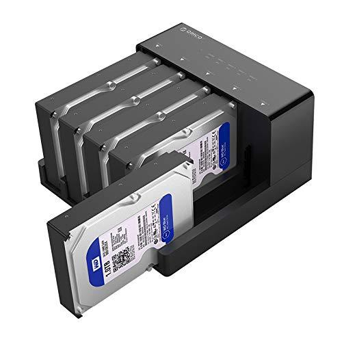 ORICO USB 3.0 zu SATA 5-Steckplatz Offline Klon Festplatten Dockingsation 3.5 Zoll Externes gehäuse für 3,5