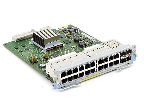 HP J8705A ProCurve 20-Port Gig-T PoE 4X SFP Mini-GBIC Module 5064-2175 5406 zl