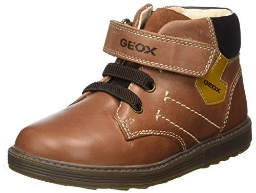 Geox Baby-Jungen B Hynde Boy A Ankle Boot, Braun (Brandy/Coffee), 22 EU