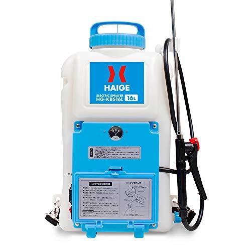 HAIGE 電動噴霧器 充電式 背負い式 バッテリー式 (電動噴霧器 16L)