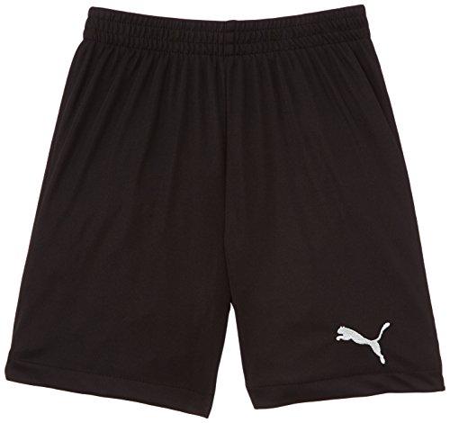 PUMA SMU Velize Shorts W/O Innerslip - Pantalones cortos de fútbol para niño, color negro, talla 12 años (152 cm)